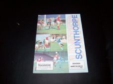 Scunthorpe United v Tranmere Rovers, 1988/89